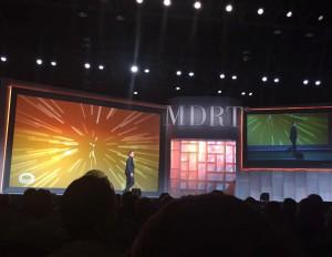 MDRT 2016 stage