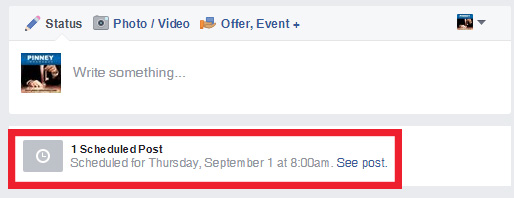 Step 3: Scheduling Social Media Posts on Facebook